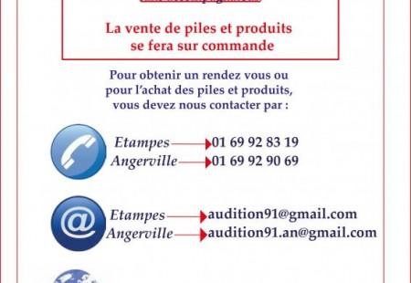 Covid 19 , informations pratiques pour l'achat des piles, les nettoyages, les changements de tubes...